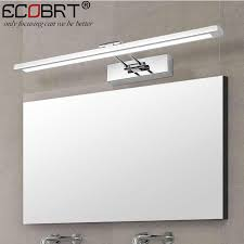 modern stainless steel led wall lights