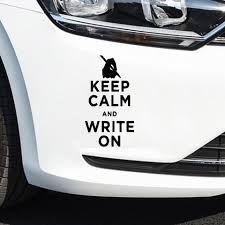 Diy Keep Calm Car Stickers Waterproof Self Adhesive Removable Car Sticker Scratch Cover Decal Auto Decoration Car Stickers Aliexpress