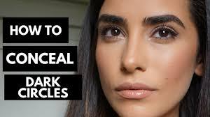 makeup tutorial hiding dark circles
