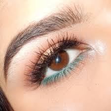 eye makeup looks just by using kajal