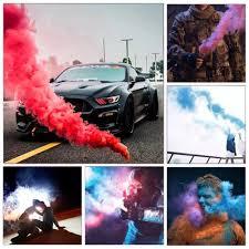 Diy Humo Colorido Juguete Magico Divertido Fuegos Artificiales Escena Fondo Fotografia Props Color Arcoiris Humo Para Fiesta Decoracion De La Boda Aliexpress