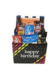 birthday beer box chagne life gift