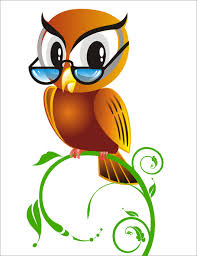 animated images vector graphics of owls