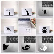 Cute Cat Laptop Sticker Vinyl Stickers Decal For Macbook Air Retina La Vango Decals