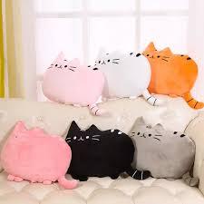 Soft Small Plush Doll Pillow Cushion Cat Shape Pillows Decorative Throw Pillow Sofa Car Seat Chair Cushion Kids Room Decor Cushion Aliexpress