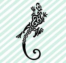 Celtic Lizard Knot Celtic Stickers Celtic Decals Etsy