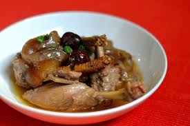 Herbal Braised Duck with Sea Cucumber ...