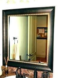 frames beautiful bathroom mirrors