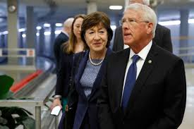 Susan Collins walks back remark that Trump learned from impeachment, saying  it was 'aspirational'