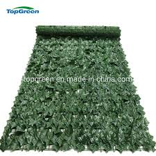 China Artificial Ivy Roll Green Plastic Leaves Fence China Garden Leaf Fence And Artificial Ivy Fence Price