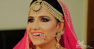 bridal makeup artists in delhi
