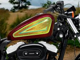 Old School Gold Sportster Tank Decals Numerous Styles Available Check Em Out At East Coast Vinyl Werkz