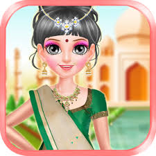 makeover indian fashion doll
