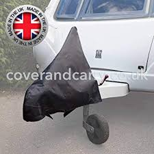 caravan a frame towing hitch cover