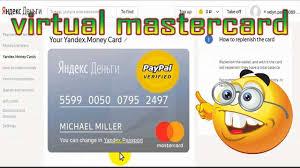 free virtual mastercard for paypal