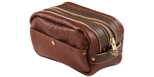 bison dopp kit tandy leather
