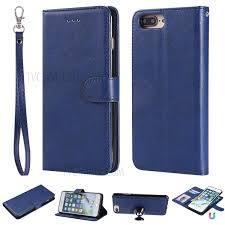 magnetic detachable 2 in 1 pu leather
