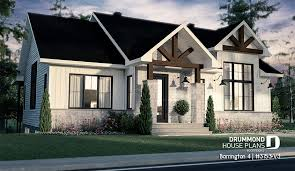 single level house plans without garage