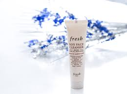 fresh soy face cleanser review nina s