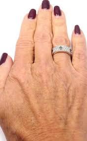 diamond paved black ceramic white gold