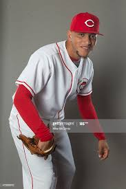 Ismael Guillon of the Cincinnati Reds poses during picture day on ...