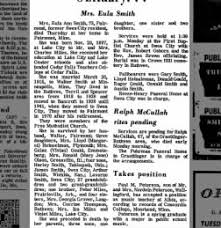 Obituary for Eula Ann Smith (Aged 67) - Newspapers.com