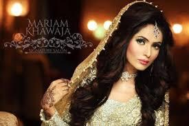 bridal makeup hair style