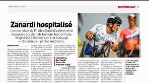 Il dramma di Zanardi sui media stranieri e italiani - La Gazzetta ...