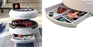 smart coffee table that doubles as a fridge