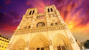 notre dame de paris hd wallpaper