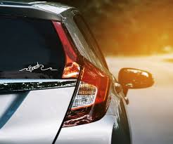 Beach Wave Car Window Sticker Funny Summer Ocean Wave Decal Etsy In 2020 Car Window Stickers Vinyl Decals Car Window