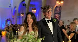 Michelle Branch and Patrick Carney get married in New Orleans