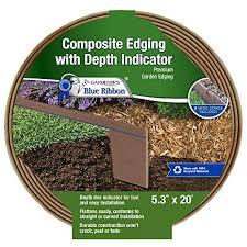 903009br composite lawn edging