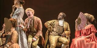 Salieri was not supremely talented but Lucian Msamati undoubtedly proves he  is in NT's 2017 Amadeus – Seen and Heard International