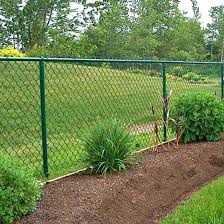 China Powder Coated Galvanized Chain Link Fence Panels For Construction Field China Chain Link Fence Privacy Chain Link