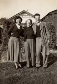 Griffin Genealogy - (lr) Aunty Joan, my Nana (Evelina Griffin) and ...