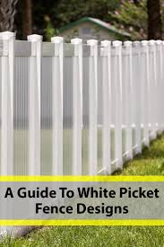 Best White Picket Fence Ideas Designs Pictures In 2020 White Picket Fence Picket Fence Fence Design