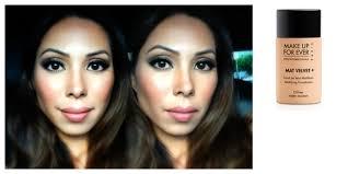 makeup forever matte velvet vs hd
