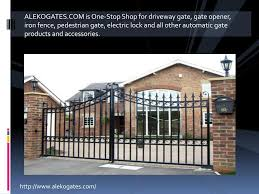 Ppt Automatic Gate Openers Powerpoint Presentation Free Download Id 4712452