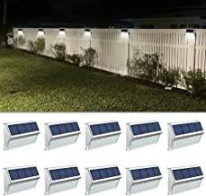 Amazon Com Outdoor Fence Lighting
