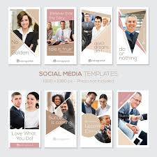 instagram stories template quotes corporate business clean