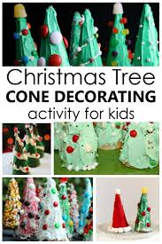 Tips For Making Christmas Tree Cones With Kids