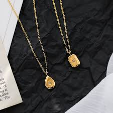 yun ruo 14 k gold plated lucky polaris