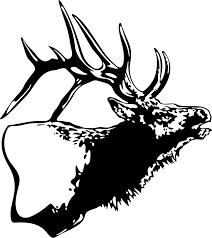 Elk Decal Wl 104 Hunting Wildlife Outdoors Stickers Wildlife Decal