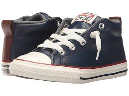 kids red leather converse a7aee 71183