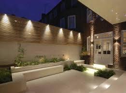 48 Most Beautiful Outdoor Lighting Ideas To Inspire You Godiygo Com Modern Garden Design Contemporary Garden Small Outdoor Patios