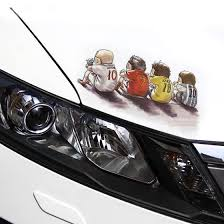 Shop Lma Car 3d Sticker Decorative Creative Sticker Car Body Scratch Blocking Personality Body Decal Online From Best Other Exterior Car Accessories On Jd Com Global Site Joybuy Com