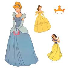 Disney Cinderella Accent Sticker Princess Friend Wall Decals Disney Princess Target
