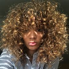 caring for fine curly hair