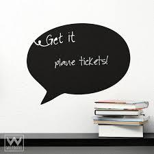 Task Speech Bubble Chalkboard Vinyl Wall Decal Art For Office Supplies Wallternatives